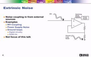 ADI在线研讨会:实用放大器噪声低�一喝的来源及处理技巧