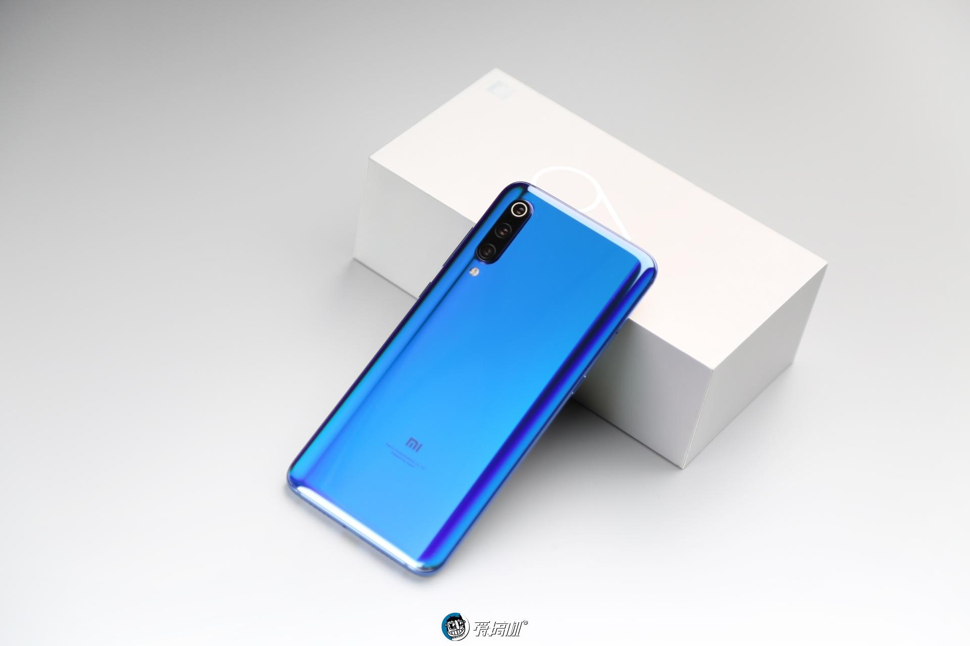 小米9全息幻彩蓝高清图集