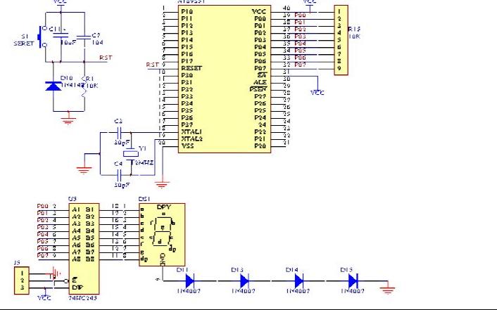 使用IO口输出点亮LED并间隔0.2秒?#20102;?#19968;下的程序免费下载