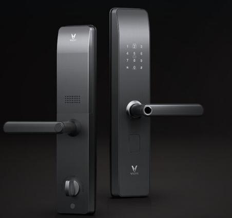 云米互联智能指纹锁拥有5种方式开门方式 是市场中...