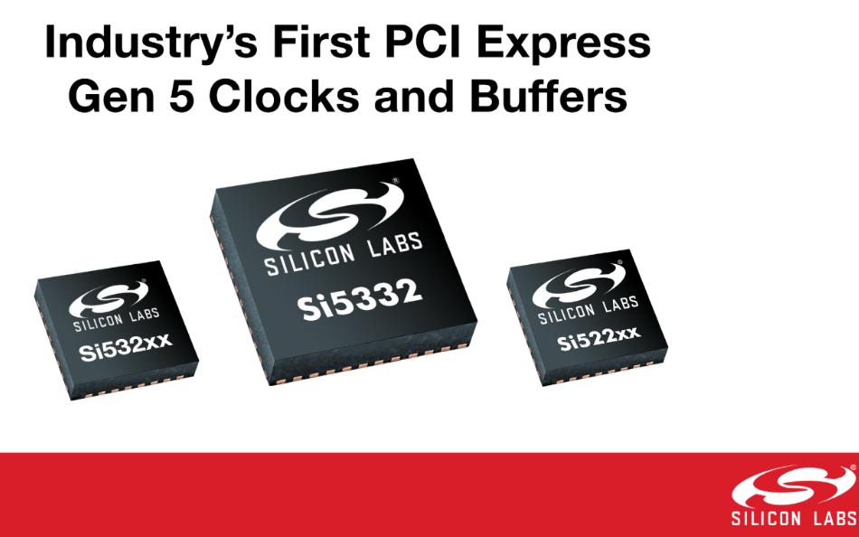 业界首家性能和功耗领先的PCI Express Gen 5时钟和缓冲器