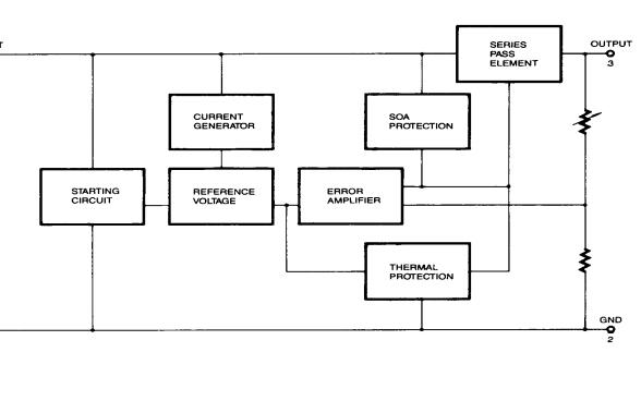 LM78XX系列三端正稳压器的数据手册免费下载