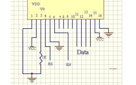 LCD1602的C51驱动函数免费下载