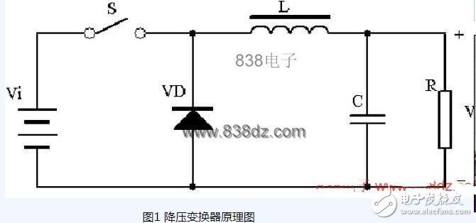 升压降压电路原理图片
