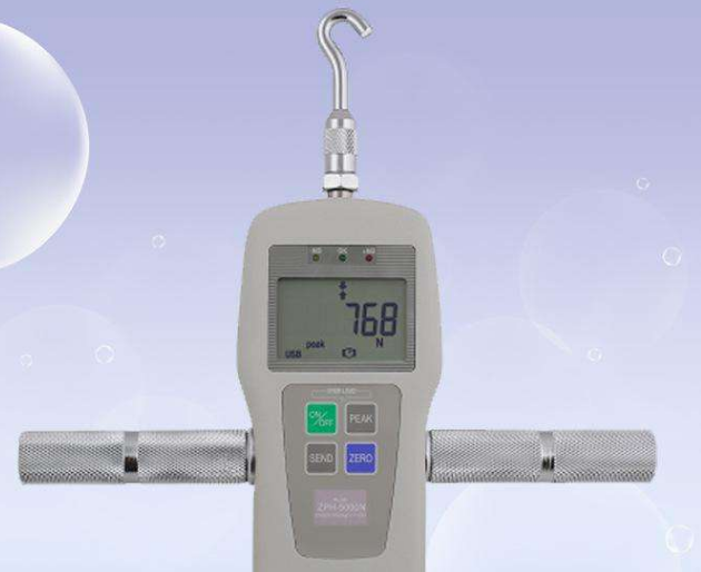 电子测力计的操作方法