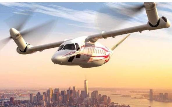 美国首架民用倾旋翼机有望明年正式投入使用
