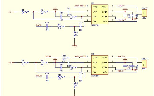 蓝牙芯片音乐模块电路原理图免费下载