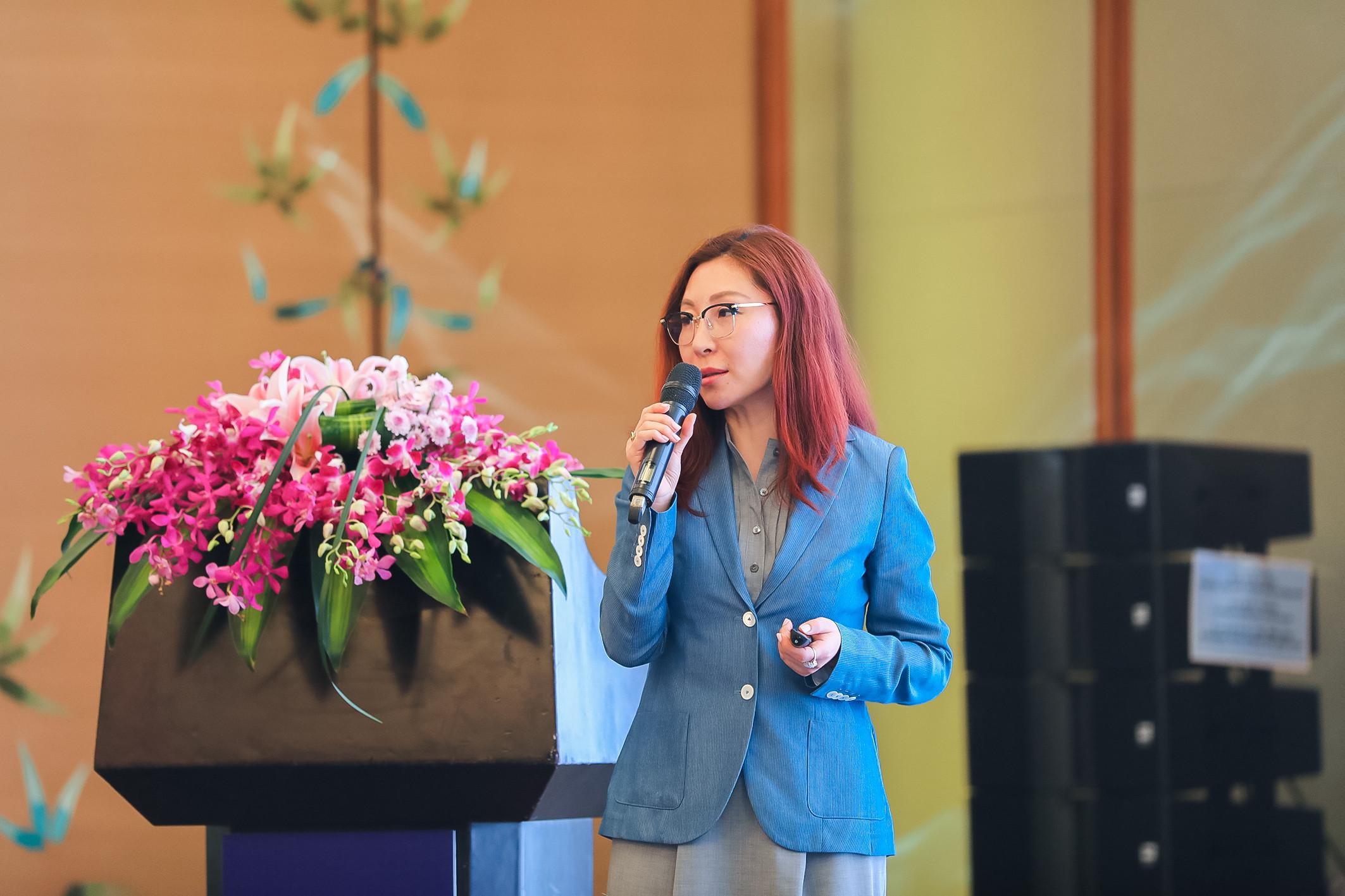 Jennifer Zhao,艾邁斯半導體先進光學傳感器部門執行副總裁兼總經理