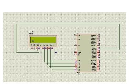 如何通过89C52单片机在LCD1602上显示任意长度的字符串