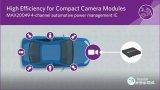 Maxim宣布推出超小尺寸MAX20049电源管理IC