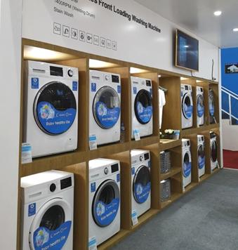 惠而浦光芒系列滚筒洗衣机亮相 进而巩固惠而浦国际...