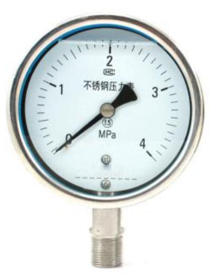 不锈钢压力表的用途及常见故障