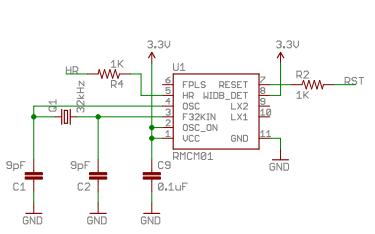 Polar心率GPS运动腕表的电路原理图免费下载