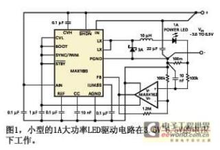 基于以高频开关稳压器为基本的LED稳压电路设计