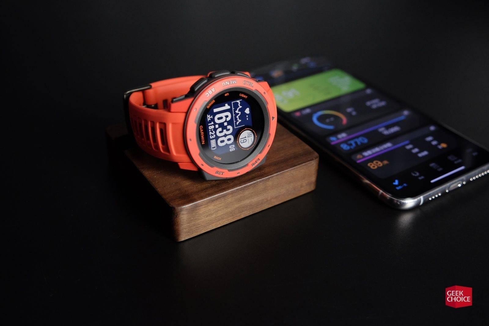 佳明Instinct体验 典型的GPS户外手表