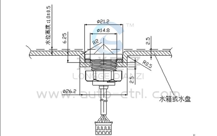 液位检测传感器使用说明书和TTL输出测试及模拟采集参考程序免费下载