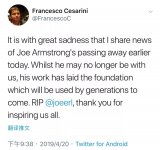 Erlang之父Joe Armstrong于4月20日去世,享年68歲