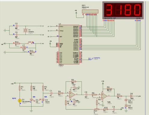 8031单片机对电机转速的测量设计
