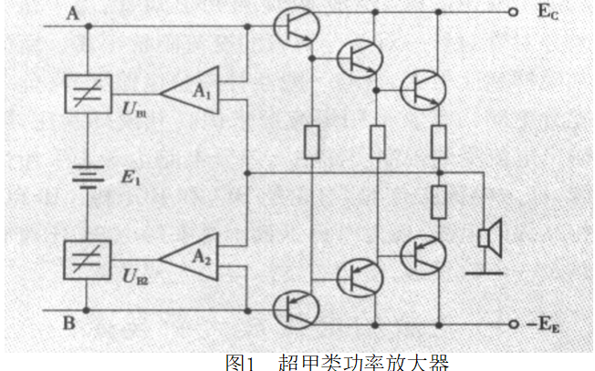如?#38382;?#29992;高效率音频功率放大器的设计毕业论文说明