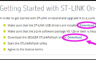 ST-LINK可以制作RT1052 mini 开发板