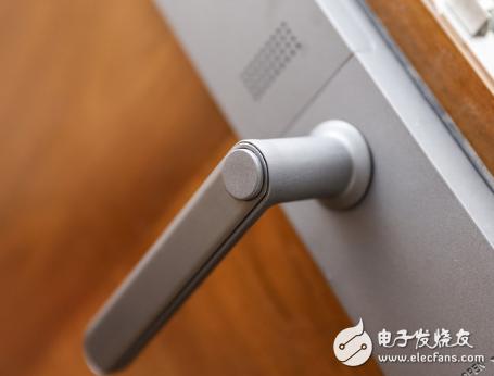 云米互联智能指纹锁拥有5种方式开门方式 是市场中的佼佼者