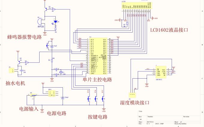 使用单片机设计士壤湿度检测自动?#20132;?#31995;统的资料说明