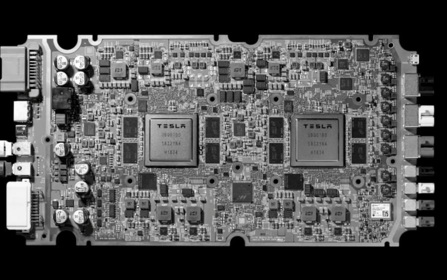 特斯拉发布自研自动驾驶芯片 14纳米三星代工取代英伟达产品