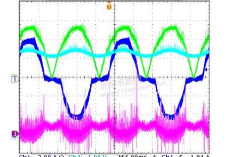 检测电流电阻放在MOS管下和电感的后面的区别