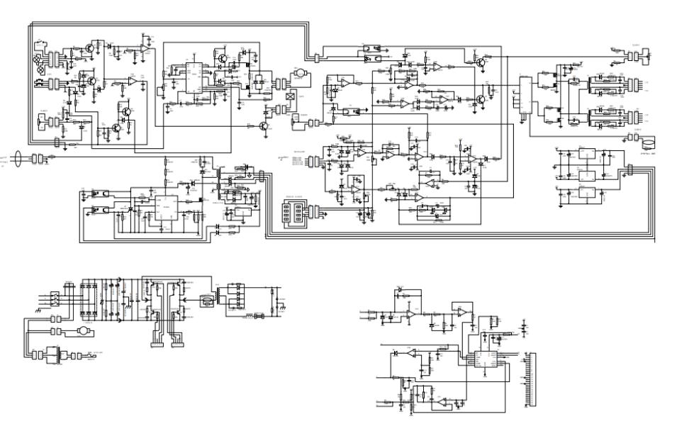 MIG-250单管IGBT整机电路原理图免费下载