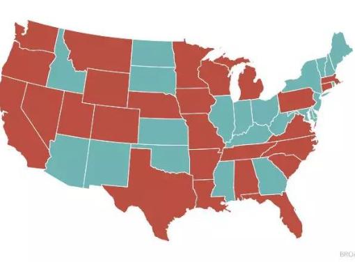 美国已对26个州进行了严格限制或彻底禁止市政宽带计划