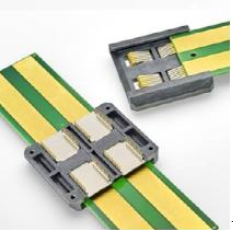 TE滑轨电源连接器 在热插拔元器件替换中可以不间断供电