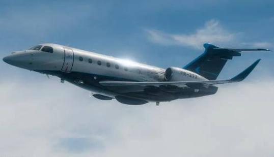 巴航工业的领航600超中型公务机获得了巴西民航局的型号认证