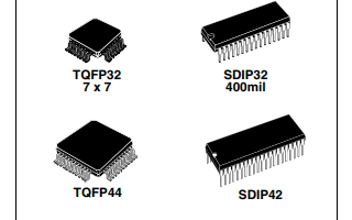 ST72F32A和ST7232A 8位单片机的数据手册免费下载