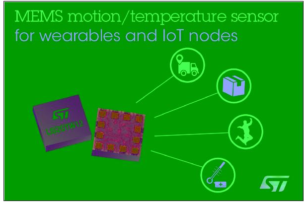 MEMS芯片整合加速度计与高准确度温度传感器  实现出色的测量精确度