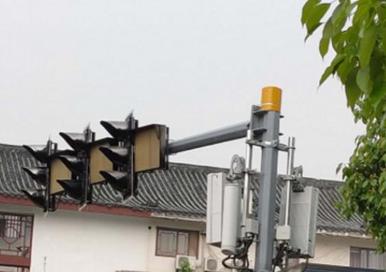重慶鐵塔助力運營商在重慶市利用5G基站建成了首座...