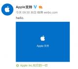 """苹果正式开通了官方微博""""Apple支持"""""""