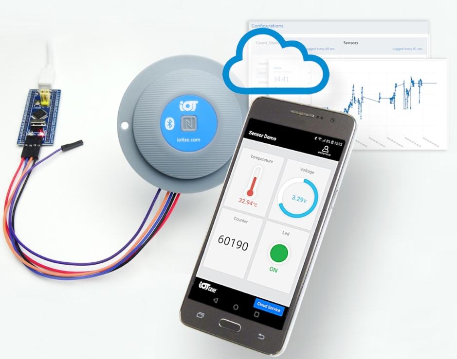 IoTize即时NFC和蓝牙的TapNLink产...
