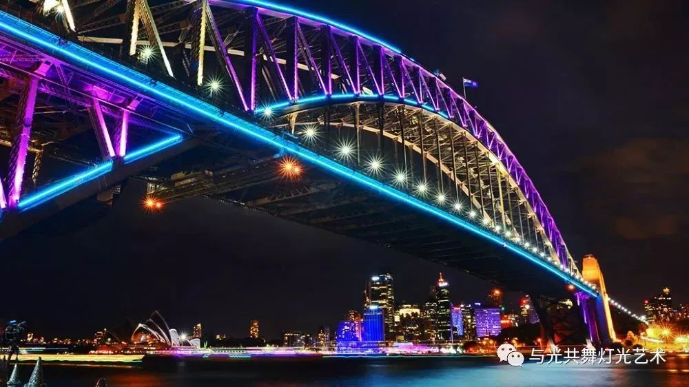 带你走进绚丽的悉尼灯光节