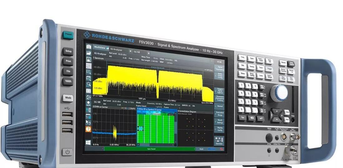 适用于5G NR、实验室和生产线高速测试的新型频谱分析仪R&S?FSV3000和R&S?FSVA3000