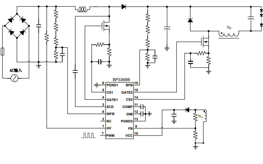 BP3368B恒流控制芯片的?#20302;?#24212;用?#25913;?#36164;料免费下载
