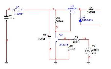 開關電源的BUCK 電路拓撲過程分析