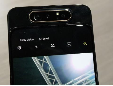 LG和小米正在研发配置三个前置摄像头的机型