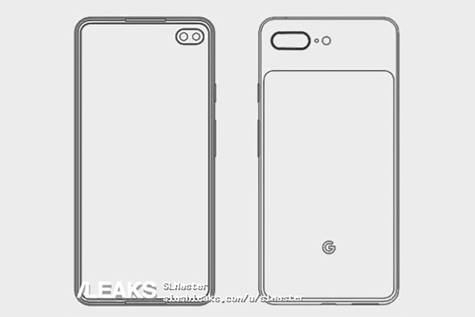 Pixel4XL工程设计图曝光 采用打孔屏方案后置摄像头升级为双摄
