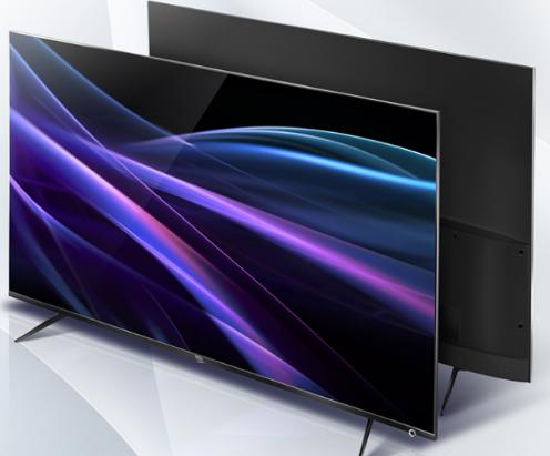 TCL 65P6 4K电视支持4K显示并且支持蓝...