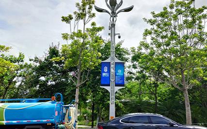 """全球路灯出货≥40万盏 洲明述说""""一盏智慧灯杆背后的故事"""""""