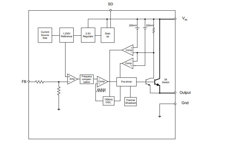 AP1507降压型DCDC变换器芯片的数据手册免费下载