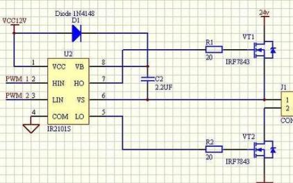 预驱动电路:ir2101数据手册的重要性分析