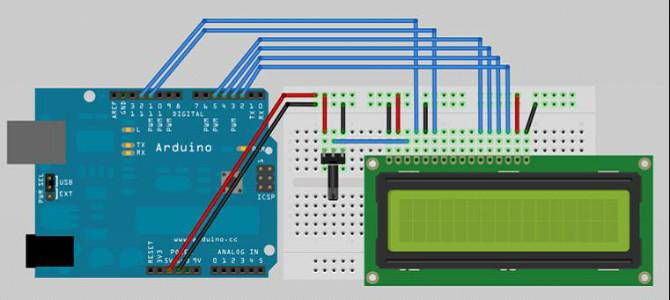 怎样在Arduino平台上点亮LCD1602驱动模块