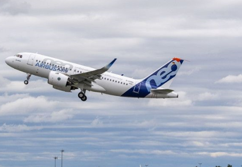 首架配备普惠GTF发动机的空客A319neo飞机已正式完成首飞
