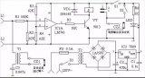 电话自动录音控制器电路图
